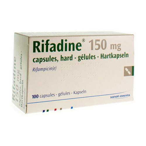 Rifadine 150 Mg (100 Gelules)