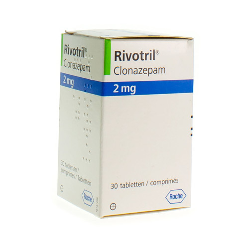 Rivotril 2 Mg (30 Comprimes)