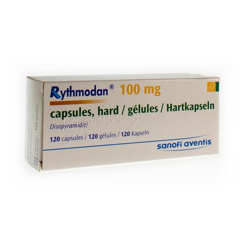 Rythmodan 100 Mg (120 Gelules)