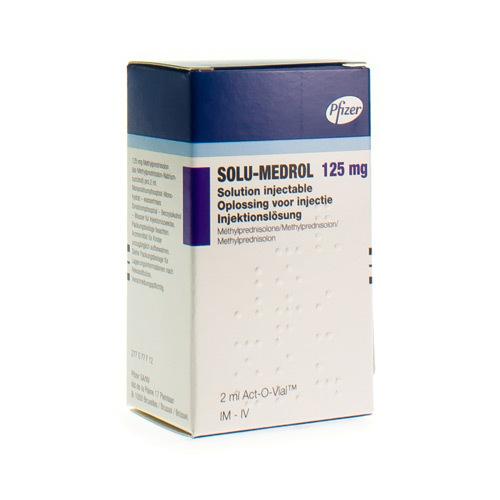 Solu-Medrol 125 Mg (1 Act-O-Vial)