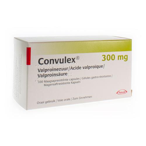 Convulex 300 Mg  100 Capsules