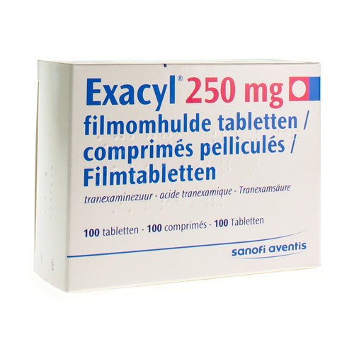 Exacyl 250 Mg (100 Tabletten)