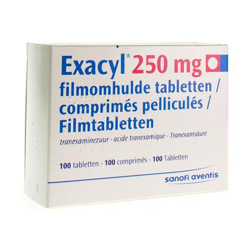 Exacyl 250 Mg (100 Comprimes)