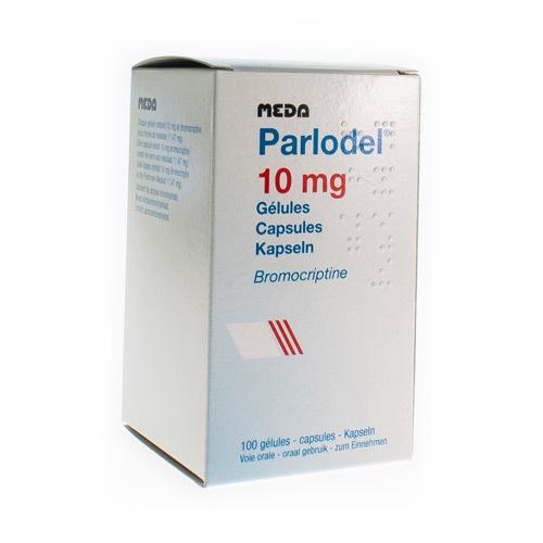 Parlodel 10 Mg (100 Capsules)
