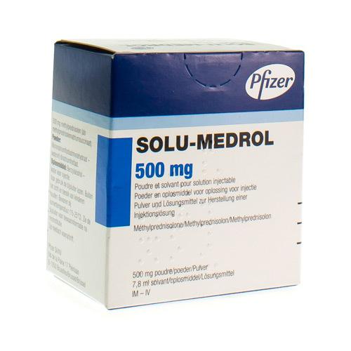 Solu-Medrol 500 Mg (1 Act-O-Vial)