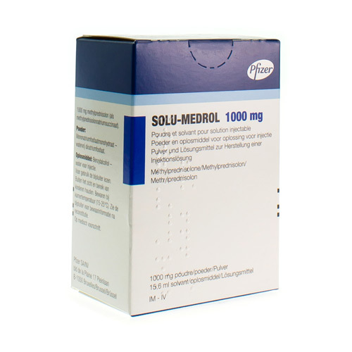 Solu-Medrol 1000 Mg (1 Act-O-Vial)