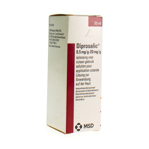 Diprosalic Lotion 0,5 Mg/G / 20 Mg/G  30 Ml