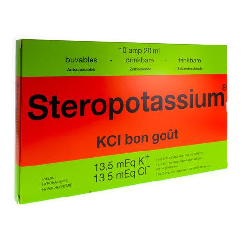 Steropotassium 20 Ml Per Os 10Amp