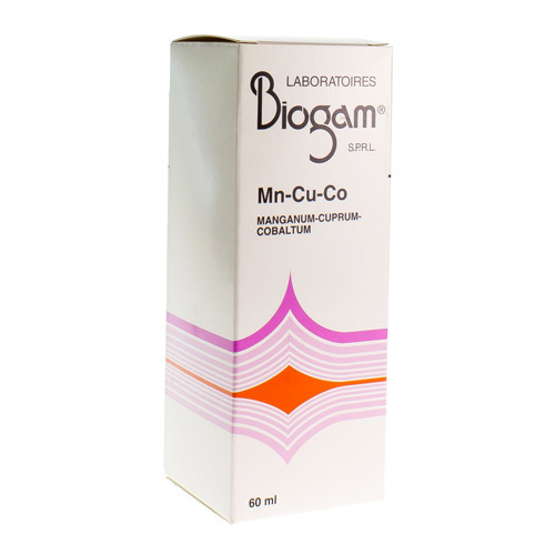 Biogam Mang-Cupr-Cobalt Mn-Cu-Co 60Ml