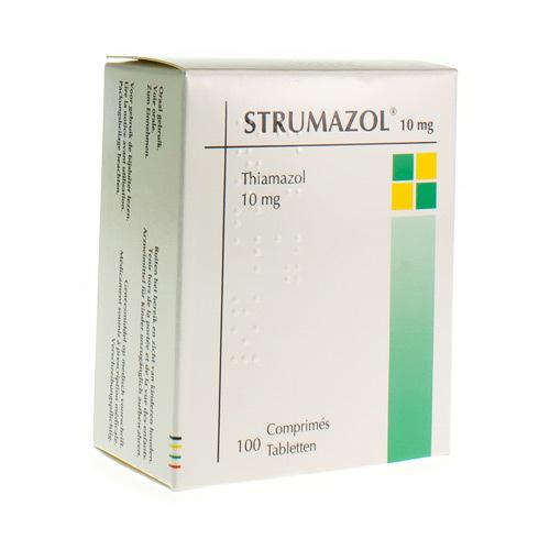 Strumazol 10 Mg (100 Comprimes)