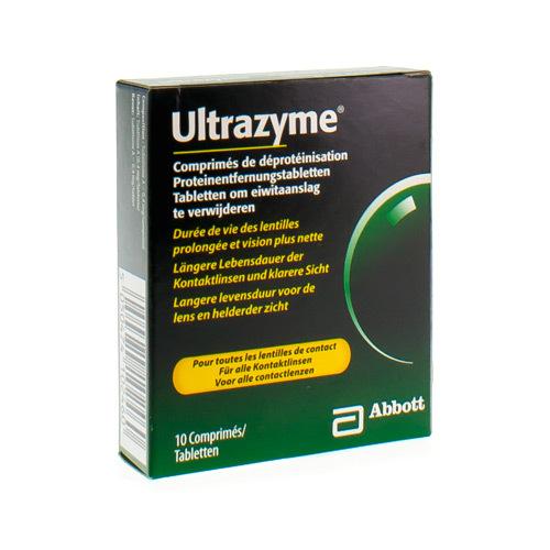 Allergan Ultrazyme Proteã¯Nereiniging  10 Tabletten
