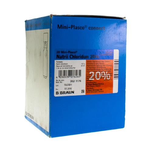 Miniplasco Nacl 20 % 20Ml Braun 1Amp