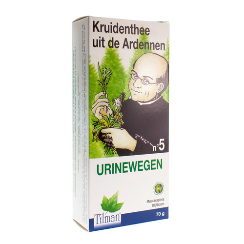 Tilman Kruidenthee Uit De Ardennen Nr. 5 Urinewegen (70 Gram)