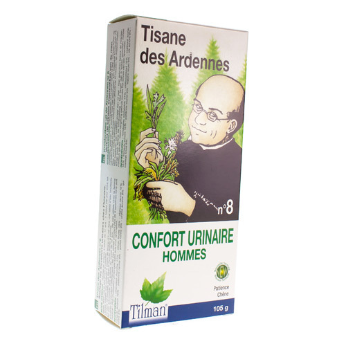 Tilman Tisane Des Ardennes Nr. 8 Confort Urinaire Hommes (105 Grammes)