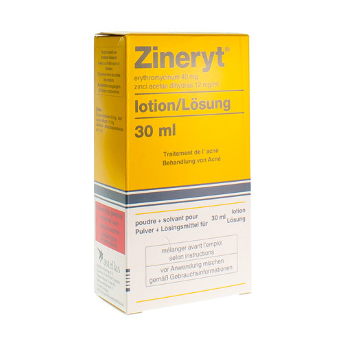 Zineryt 40 Mg/Ml / 12 Mg/Ml (30 Ml)