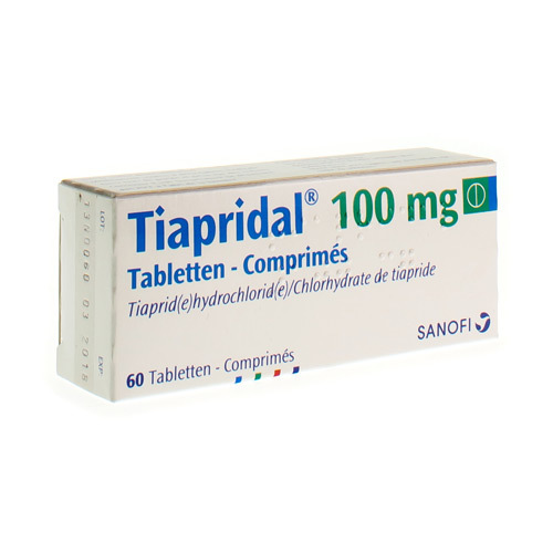 Tiapridal 100 Mg (60 Comprimes)