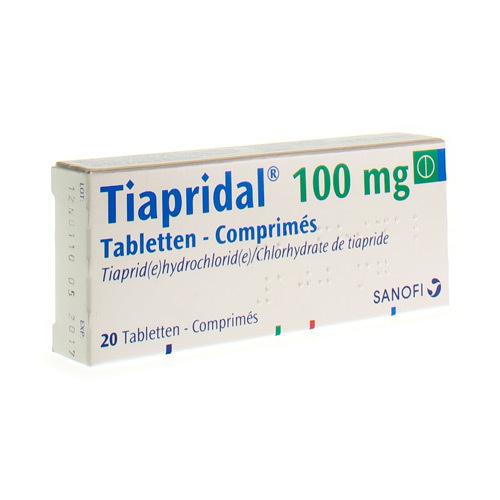 Tiapridal 100 Mg (20 Comprimes)