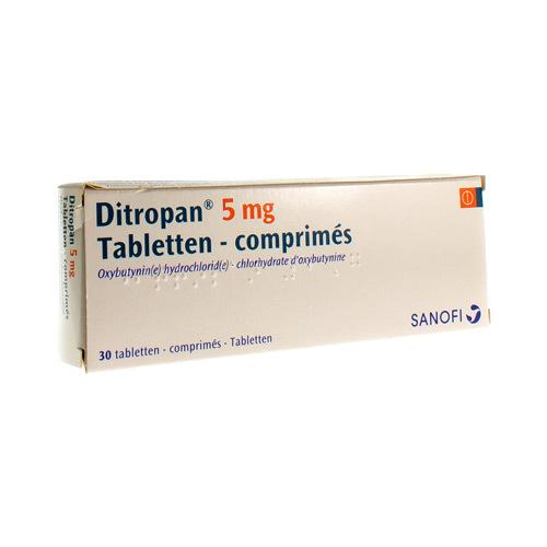 Ditropan 5 Mg  30 Comprimes