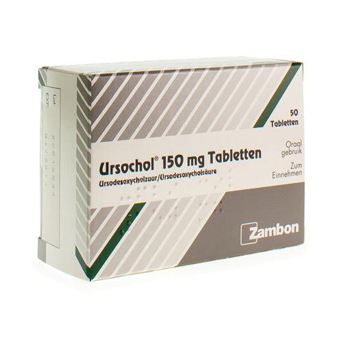 Ursochol 150 Mg (50 Comprimes)