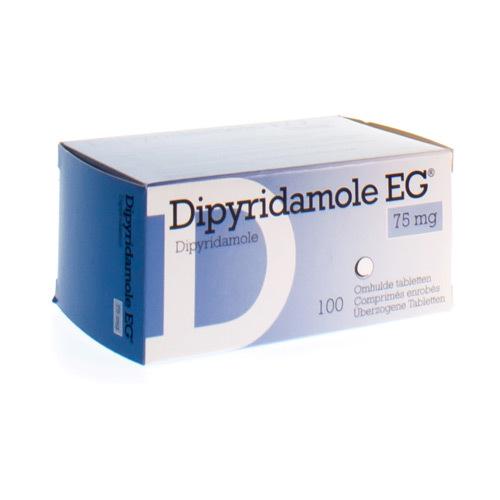 Dipyridamole EG 75 mg (100 tabletten)