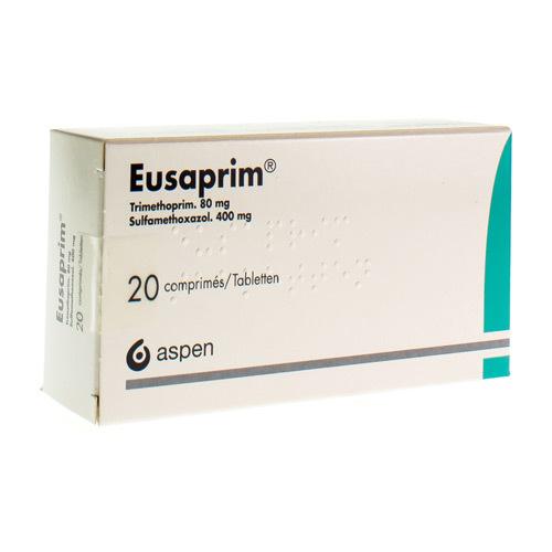 Eusaprim 80 Mg / 400 Mg (20 Comprimes)